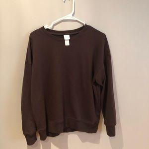 H&M Basic Oversized Crewneck Sweatshirt